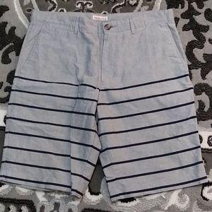 Merona stripe shorts